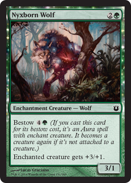 Nyxborn Wolf - Foil