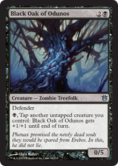 Black Oak of Odunos - Foil on Channel Fireball
