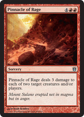 Pinnacle of Rage - Foil