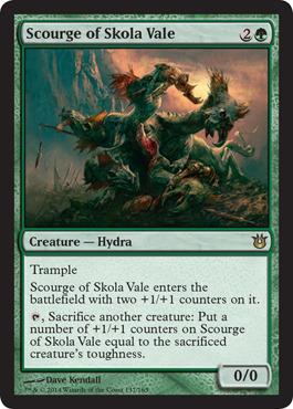 Scourge of Skola Vale - Foil