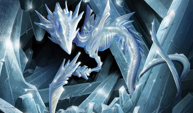 Artists of Magic Series Play Mat - Crystal Slivers by Robert Bermea