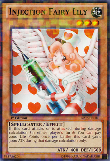 Injection Fairy Lily - BP02-EN018 - Mosaic Rare - Unlimited - Yu-Gi