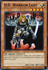 D.D. Warrior Lady - BP02-EN021 - Rare - Unlimited