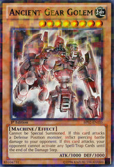 Ancient Gear Golem - BP02-EN035 - Mosaic Rare - Unlimited on Channel Fireball