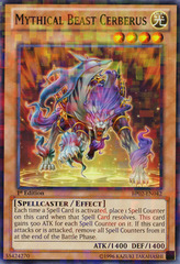 Mythical Beast Cerberus - BP02-EN042 - Mosaic Rare - Unlimited