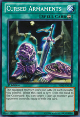 Cursed Armaments - BP02-EN159 - Common - Unlimited on Channel Fireball