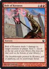 Bolt of Keranos - Foil on Channel Fireball