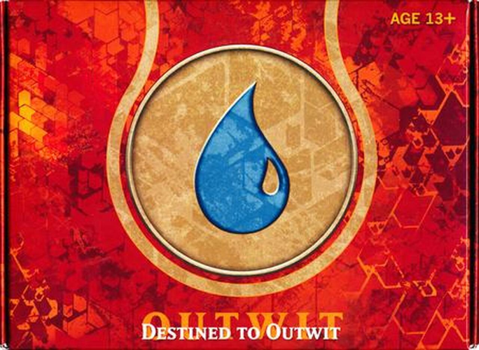 Born of the Gods Prerelease Kit - Destined to Outwit - Blue