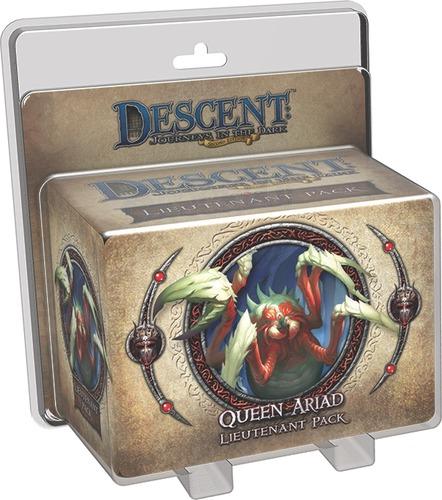 Descent: Journeys in the Dark (Second Edition) - Queen Ariad Lieutenant Pack