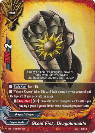 Steel Fist, Dragoknuckle - BT01/0011 - RR