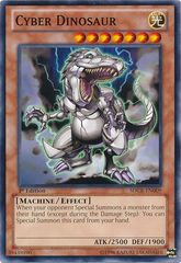 Cyber Dinosaur - SDCR-EN009 - Common - 1st Edition on Channel Fireball