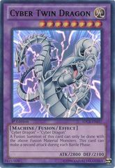 Cyber Twin Dragon - SDCR-EN037 - Ultra Rare - 1st Edition on Channel Fireball
