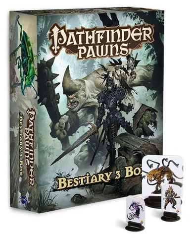 Pathfinder RPG (Pawns) - Bestiary 3 Box