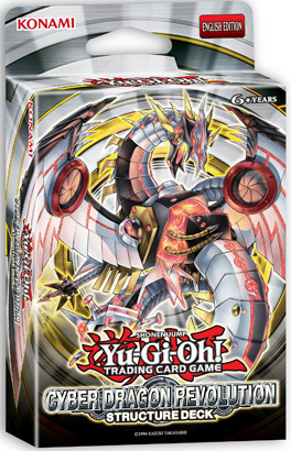 Yu-Gi-Oh Structure Deck: Cyber Dragon Revolution - 1st Edition