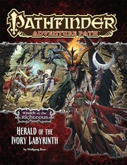 Pathfinder Adventure Path #77: Herald of the Ivory Labyrinth (Wrath of the Righteous 5 of 6)