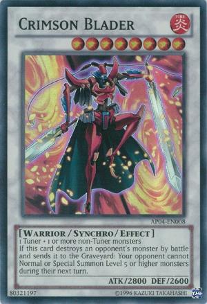 Crimson Blader - AP04-EN008 - Super Rare - Unlimited Edition