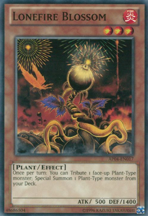 Lonefire Blossom - AP04-EN017 - Common - Unlimited Edition