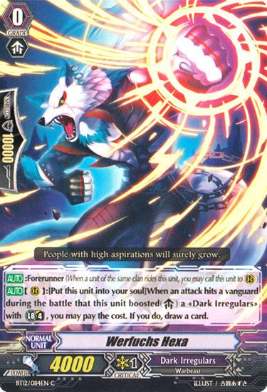CARDFIGHT Vanguard English BT12//016EN RR Master of Fifth Element