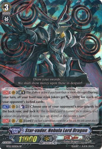 Star-vader, Nebula Lord Dragon - BT12/S05EN - SP