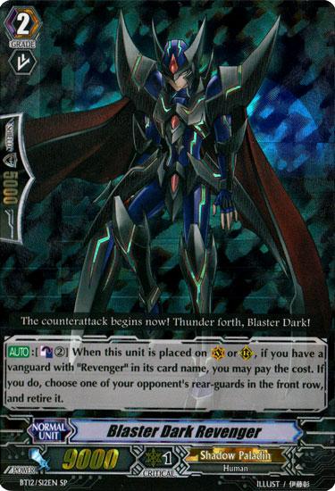 Blaster Dark Revenger - BT12/S12EN - SP