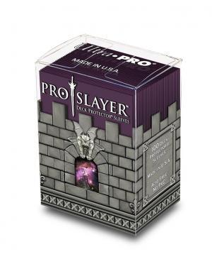 100ct PRO-Slayer Black Cherry Standard Deck Protectors