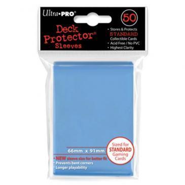 50ct Light Blue Standard Deck Protectors