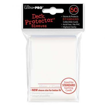 50ct White Standard Deck Protectors
