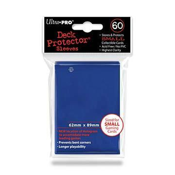 60ct Blue Small Deck Protectors