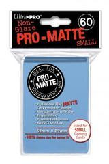 Pro-Matte Light Blue Small Deck Protectors - 60ct