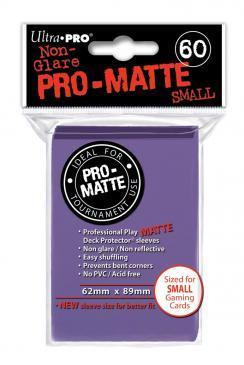 60ct Pro-Matte Purple Small Deck Protectors
