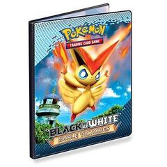 Ultra Pro Pokemon Black & White BW3 Noble Victories 9-Pocket Portfolio - Victini/Black Kyurem