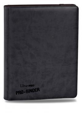 Ultra Pro Premium 9-Pocket Black PRO-Binder (84194)