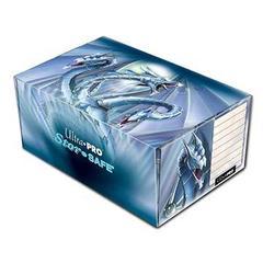 Blue Diamond Dragon Corrugated Storage Box by Monte