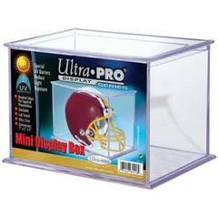 Mini Helmet and Figurines UV Display Case