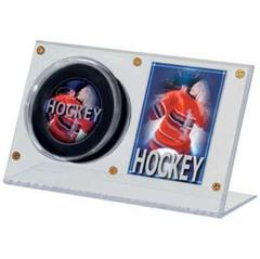 Puck & Card Clear Holder