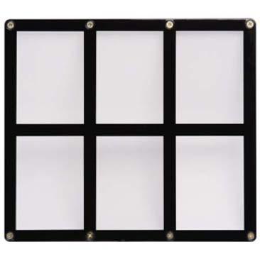 6-Card Black Frame Screwdown Holder