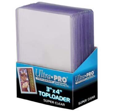 3 X 4 Super Clear Premium Toploader