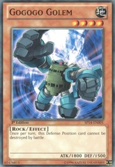 Gogogo Golem - SP14-EN001 - Common - 1st Edition