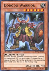 Dododo Warrior - SP14-EN018 - Common - 1st Edition