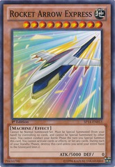 Rocket Arrow Express - SP14-EN015 - Starfoil Rare - 1st Edition