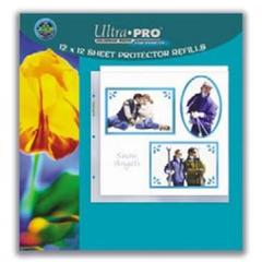 12 x 12 Size Sheet Protector Pages 10ct Pack