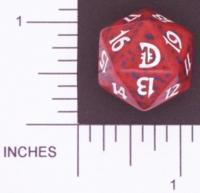 Magic Spindown Die - Deckmasters - Red