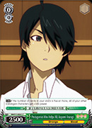 Protagonist Who Helps All, Koyomi Araragi - BM/S15-041 - C