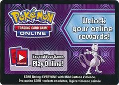 Mewtwo Collection Box Code Card