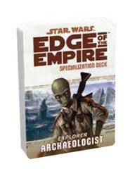 Star Wars: Edge of the Empire: Archaeologist Specialization Deck
