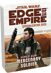 Star Wars: Edge of the Empire: Mercenary Soldier Specialization Deck
