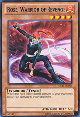 Rose Warrior of Revenge - Blue - DL16-EN005 - Rare - Unlimited Edition