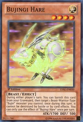 Bujingi Hare - LVAL-EN030 - Super Rare - Unlimited on Channel Fireball