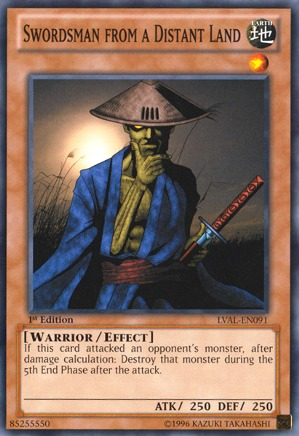 Swordsman from a Distant Land - LVAL-EN091 - Common - Unlimited