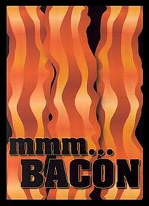 Bacon Legion Small Size Premium Gaming Card Sleeves (60 Ct)